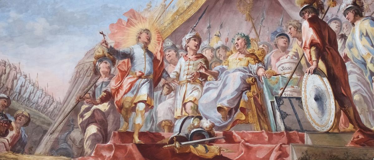 St. Martin Abschied vom Heer